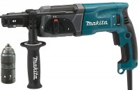 Эл.перфоратор Makita HR2470FT 3.780Вт.0-4500/м